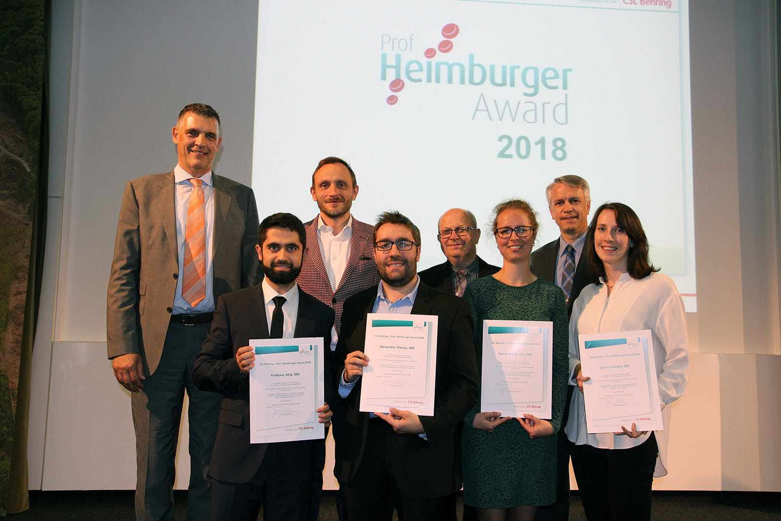 Heimburger Award 2018